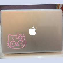 Hello Kitty Harry Potter Wall Sticker Laptop Car Decal Cartoon Cat Animal Cut Vinyl Kids Room Living Room Bed Room Home Decor(China)