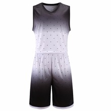 Hot Mens Basketball Jerseys Black White Throwback Sports Kits Basketball Space Jam Jerseys Cool Basketball Uniforms Suits Wear(China)