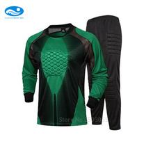 Futbol De 2016/17 Men Soccer Jerseys Football Goalkeeper Soccer Uniforms Sets Training Suits Doorkeepers Long Sleeve For Men