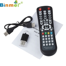 BINMER USB Wireless Media Desktop PC Remote Control Controller For XP Vista 7 Futural Digital AP19