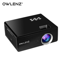 OWLENZ SD70 Multimedia Portable Projector 2300 LED Lumens For Home Cinema Theater Movie Movie Support 1080P DVD PC Multimedia(China)