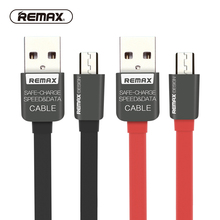 REMAX Flat Micro USB data cable 2.1A dual USB Side fast charging flexible sync data cable for samsung/xiaomi/HTC/huawei