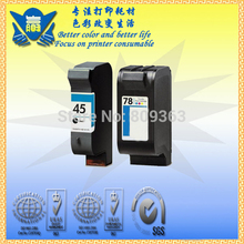Excellent quality products for hp 45 78, compatible ink cartridge  use for  DeskJet 710c 830c 880c 890c 895cxi 1120c 1125c 810c