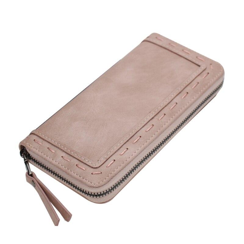 Fashion Brand purse women long  thread wallet female zipper wallet Clutch large capacity money purse bag<br><br>Aliexpress