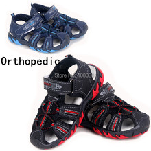 Buy Big Sale 1pair Summer Boy kids Orthopedic Shoes Children Sandals, Skidproof Boys/Kids Cheap soft Shoe for $9.84 in AliExpress store
