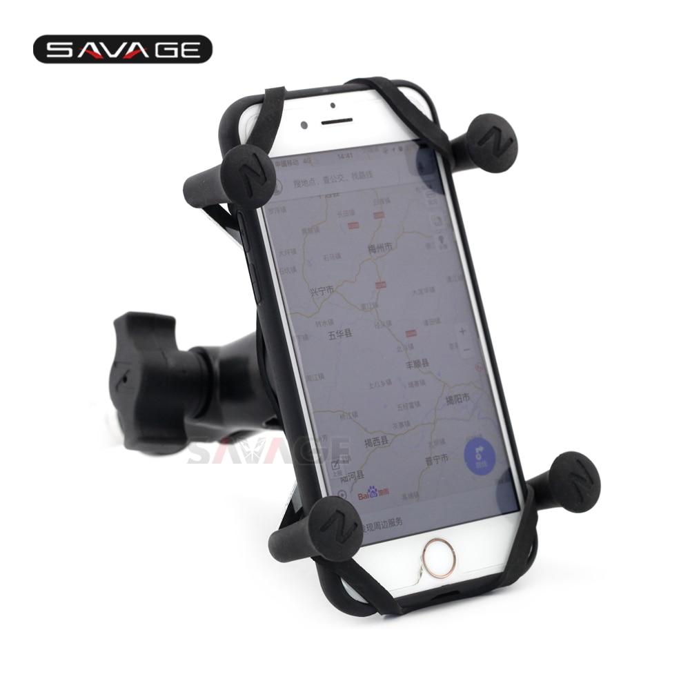 USB Charger Cell Phone Holder for Suzuki GSXR600 750 1000 Hayabusa GSX1300R US
