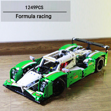 Classic Technics car-styling 24 Hours Race cars SUV jeep 2in1 Formula one f1 building block Off-road vehicle BRICKS 42039 toys