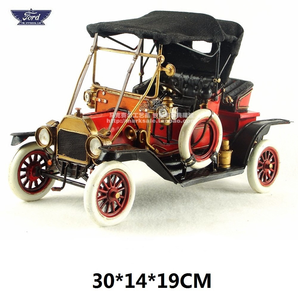 Brand New Car Model Toys USA 1911 Ford Model T (Tin Lizzie/Flivver) Handmade Metal Artefact Car Model Toy For Collection/Gift(China)