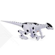 MUQGEW Low Price Intelligent Interactive Smart Toy Dinosaur Robot Remote Toys Sound Light Action Toy Figures more than 3 years(China)