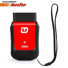 Newest Xtuner X500 OBDII Car Diagnostics OBD2 Bluetooth Adapter ABS Battery EPB DPF Reset Oil Service Reset Auto Diagnostic Tool