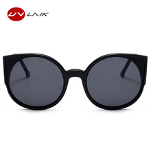 New Cat Eye Sunglasses Women Brand Designer Fashion Coating Mirror Sexy Cateye Sun Glasses For Female UV400 Women's Glasses