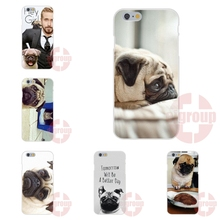 For LG G2 G3 G4 G5 Mini Spirit K4 K7 K8 K10 Soft TPU Silicon Cute Phone Cases Customize Tomorrow Will Be A Better Day Pug Face