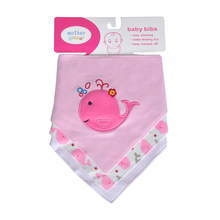Newly Baby Bibs 3pcs/lot Baby Bibs Bandana100% Cotton Babadores Infant Towel For Boys And Girls Baby Clothing Infant Accessories(China)