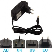 LED Driver Power Supply Adapter Transformer ac 100-240v to DC 12V 1A 2A 12W 24W UK/US/EU/AU Plug Free shipping