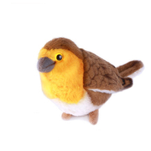 Life Size Flying Bird Brinquedos Menina Toys For Children Oiseaux Artificiels Bird Simulation Plush Toys Small Stuffed 50G0227(China)