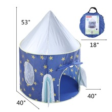YARD Foldable Tipi Camping Toy Tent Playhouses for Kids Children Play Tent for Outdoor and Indoor Playing(China)