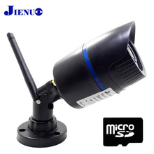 JIENU 720P ip camera with wifi wireless Security surveillance video Home camera P2P Support memory card onvif P2P cam(China)