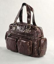 HOT SALE! Vintage butter leather large Luggage luggage quality personalized 7143c