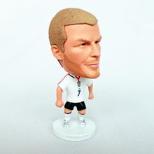 Soccerwe Soccer Player Figurine England 7 David Beckham Doll 2002 Classic Gift(China)