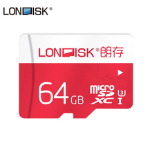 LONDISK Micro SD Card 64 ГБ Class 10 UHS-3 SDXC карты памяти Micro SD карты памяти(China)