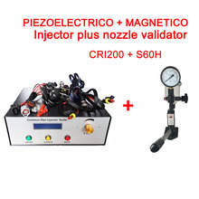 CRI200 Common Rail Injector Tester with piezo function + S60H nozzle validator tester tool