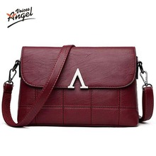 Angel Voices Women Messenger Bags Crossbody New 2017 Fashion Women Bag Luxury Soft PU Leather Famous Brands Designer Handbag(China)