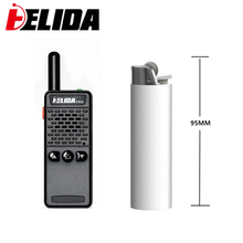 One piece HELIDA T-M2 radio super small portable professional FM transceiver walkie talkie two way radio 16 channel 400-520MHZ(China)