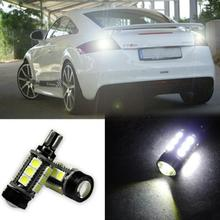 Supre White Canbus Error Free LED T15 921 912 W16W LED Backup Reverse Lights lamps 360 Degrees 5730 SMD Car Led