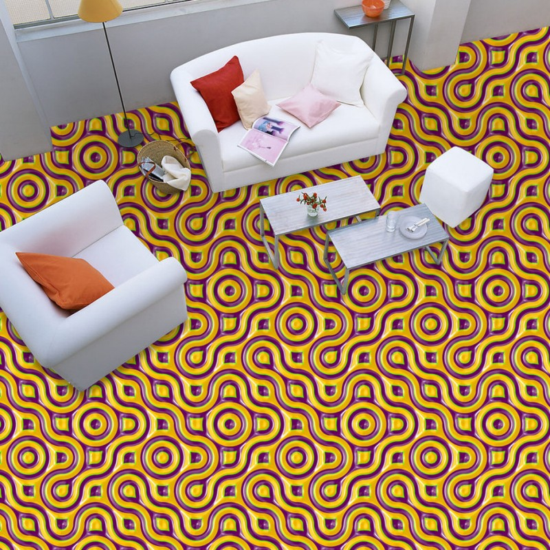 Free Shipping 3D relief sculpture geometric texture art floor wear high-quality moisture-proof waterproof wallpaper mural<br>