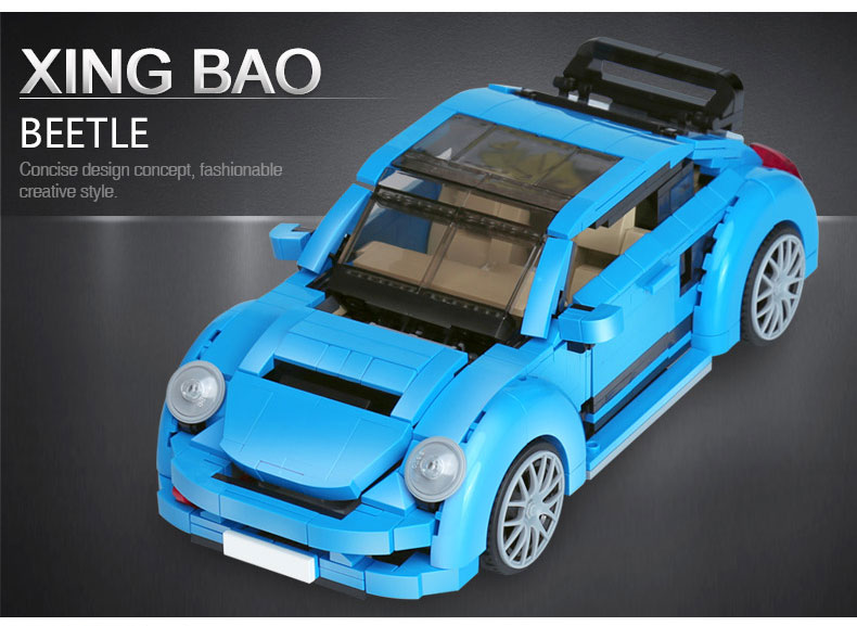 XINGBAO XB-03015 Beetle Car Building Block 35