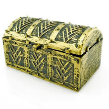2017 1X Best-selling Pirate Treasure Chest Gags Practical Joke Toy Kids Party Favor Supply Props Bag Toys Gift(China)