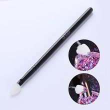 UR SUGAR Silicone Nail Brush Glitter Powder Puff Eyeshadow Stick Black Manicure Nail Art Tools Make Up Brush Beauty Essentials