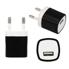 Del  USB Charger Power Adapter EU Plug Wall Travel Charger for iphone for Samsung for LG G5 Jun 27