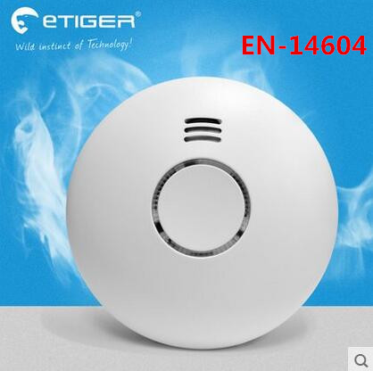 Big discount Wireless Smoke Detector fire alarm sensor ES-D5B work with S4 Alarm system And ES-3B Alarm<br>