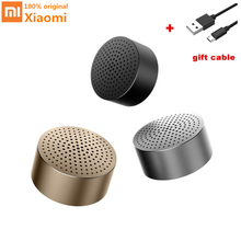 Original Xiao mi mi Alto-falantes Estéreo Portátil Sem Fio Bluetooth Speaker com mi c mi ni Mp3 Music Player Handsfree Chamada para o telefone(China)