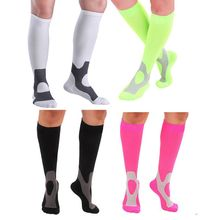 20-30 mm Men Sport Football Socks Hg Graduated Compression Socks Firm Pressure Circulation Socks Stretch Calf Support socks