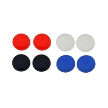 Bevigac 8x Controller Thumb Stick Grips Cap Case Cover Skin For Sony Play Station PS 4 3 2 PS4 PS3 PS2 Console Jogos Game(China)