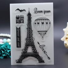 11x16CM Clear  Stamp for DIY Scrapbook Card album decoration outing excursion wedding holiday lover vacation