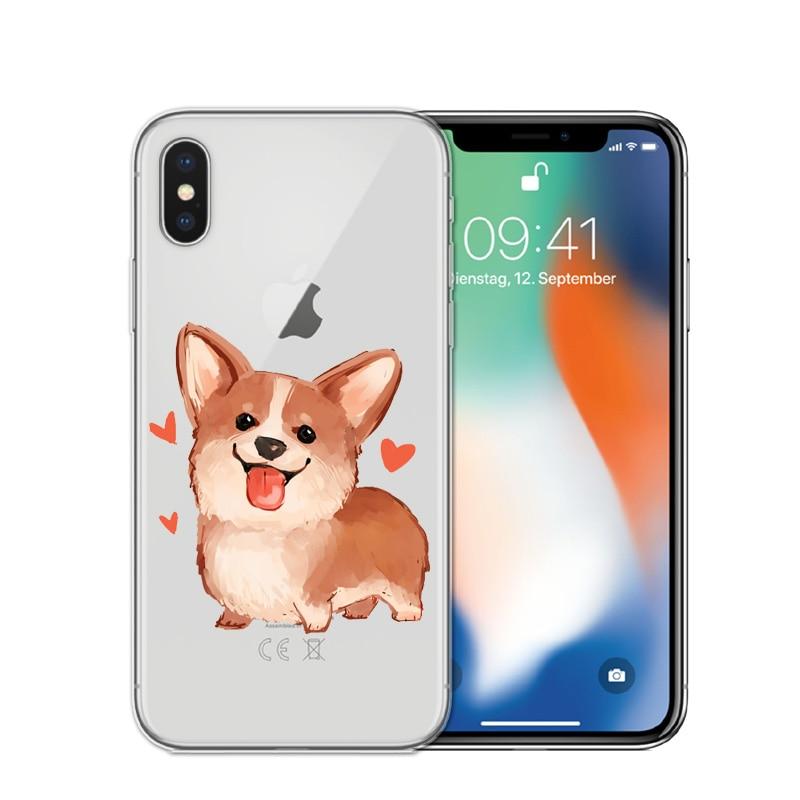 coque iphone xr corgi