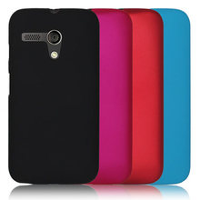 New Multi Colors Luxury Rubberized Matte Plastic Hard Case Cover For Motorola Moto G XT1031 XT1032 XT1028 Cell Phone Cover Cases(China)