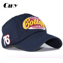 New Arrivals baseball cap snapback hats for boy girls fashion visor cap letters print cap sun hats For Adult  TH-038