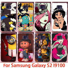 TAOYUNXI Phone Cases For Samsung Galaxy SII I9100 S2 GT-I9100 Cases Jasmine Girls Hard Back Cover Skins Sheaths Bags Hoods