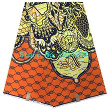 Y10B7!Wholesale prices!Guaranteed dutch wax african super wax hollandais 2016 new designer african fabric 6yard/pcs(China)