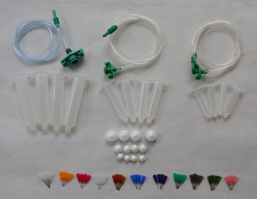 Liquid Dispenser Solder Paste Adhesive Glue Syringe + Dispensing Needle Tip<br>