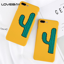 Buy Lovebay Phone Case iPhone 8 7 6 6s Plus Lovely Cartoon Cactus Plants Ultra thin Hard PC Back Cover Cases iPhone 8 Plus for $1.27 in AliExpress store