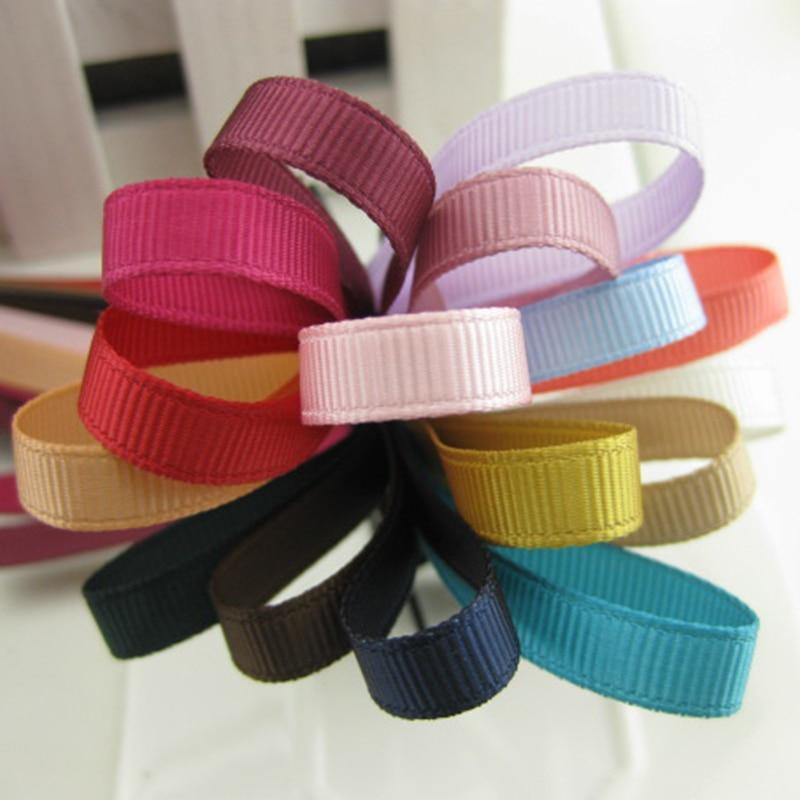 5meter/lot 6mm Ribbed Ribbon Adult Children