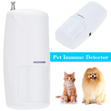 2016 New 433MHz Wireless Infrared Detector Curtain Sensor PIR Detector Burglar Alarm System Detector For Home Security(China)
