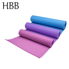 HBB 4mm Thickness Yoga Mat Non-slip Exercise Pad Health Lose Weight Fitness Durable 1PC