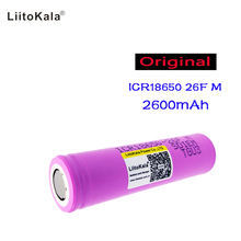 1PCS New 100% Original Liitokala For Samsung 18650 2600mah battery ICR18650 FM  Li ion 3.7 V rechargeable battery