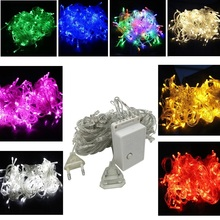 Hot Sale 10M 100 LED String Light Outdoor Christmas Lighting Waterproof 220V 110V String light Festival Party Decor(China)